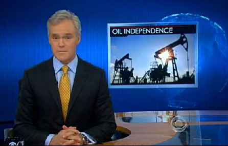 CBS reporting Oil Independence from fracking